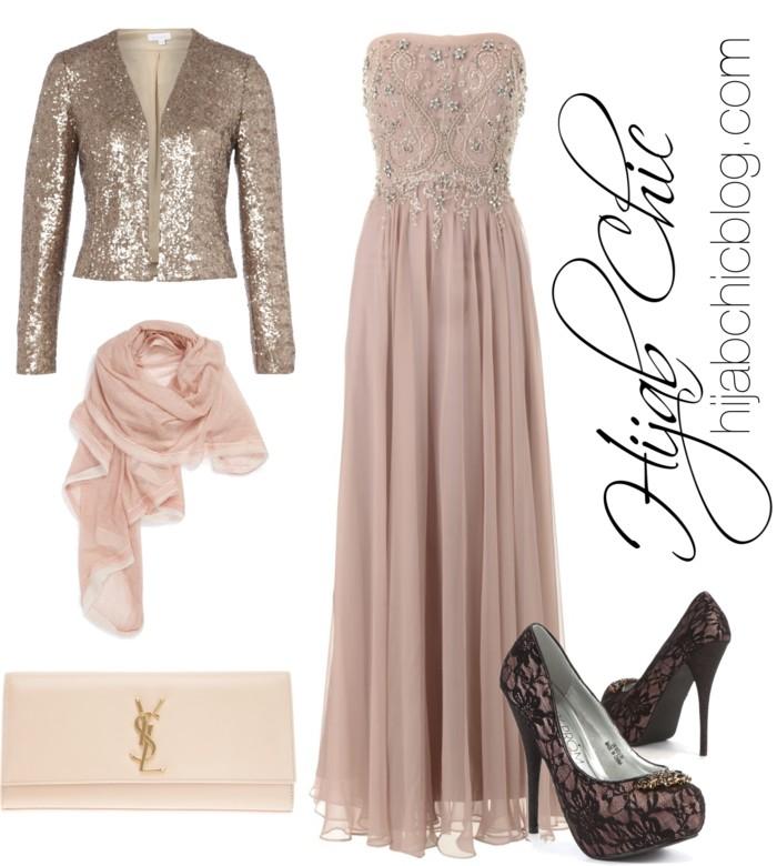 Hijab Fashion Barbara Schwarzer Dress
