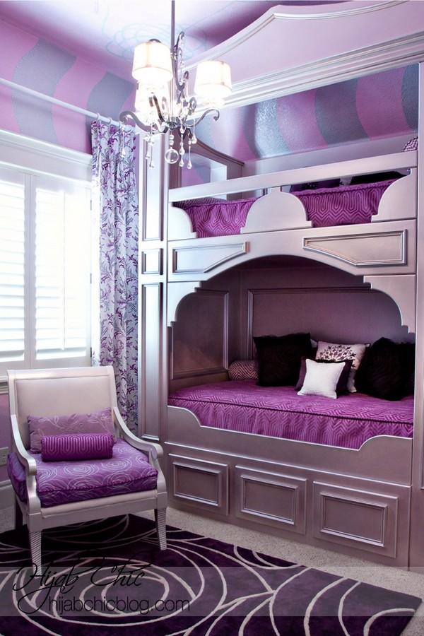 Purple Bedroom Inspiration Design Ideas