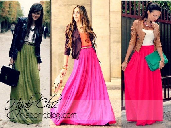 MAXI SKIRTS ARE STILL IN!