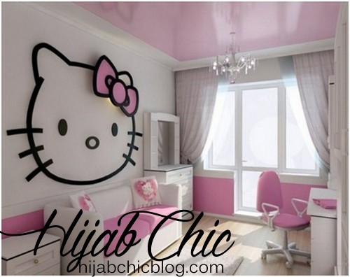 modern-kid-study-room-with-simple-Hello-Kitty-wall-decal-and-a-petite-chandelier-also-white-pink-comfy-sofa-and-bright-wooden-floor-design-ideas-1024x812