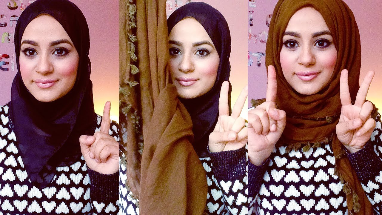 Unique Hijabhijab Tutorial Hijab Tutorial 3 Easy Snood Styles