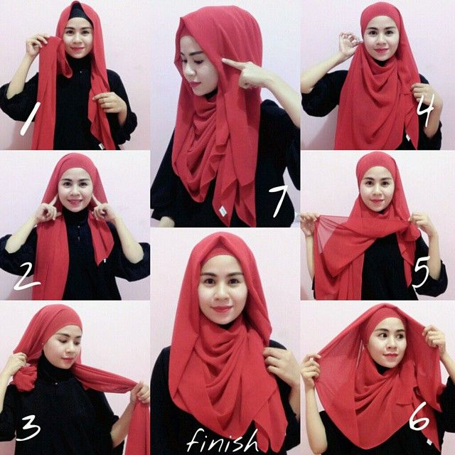 Hijab Inspiration for Round Face