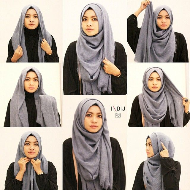 Hijab Inspiration For Oval Face