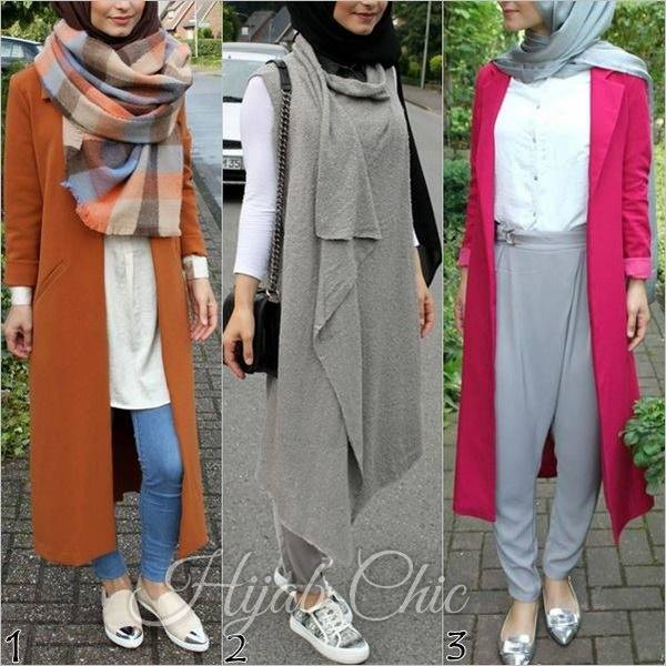 35 Hijab Winter Outfit Ideas